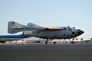 SpaceShipOne Suborbital air-launched spaceplane