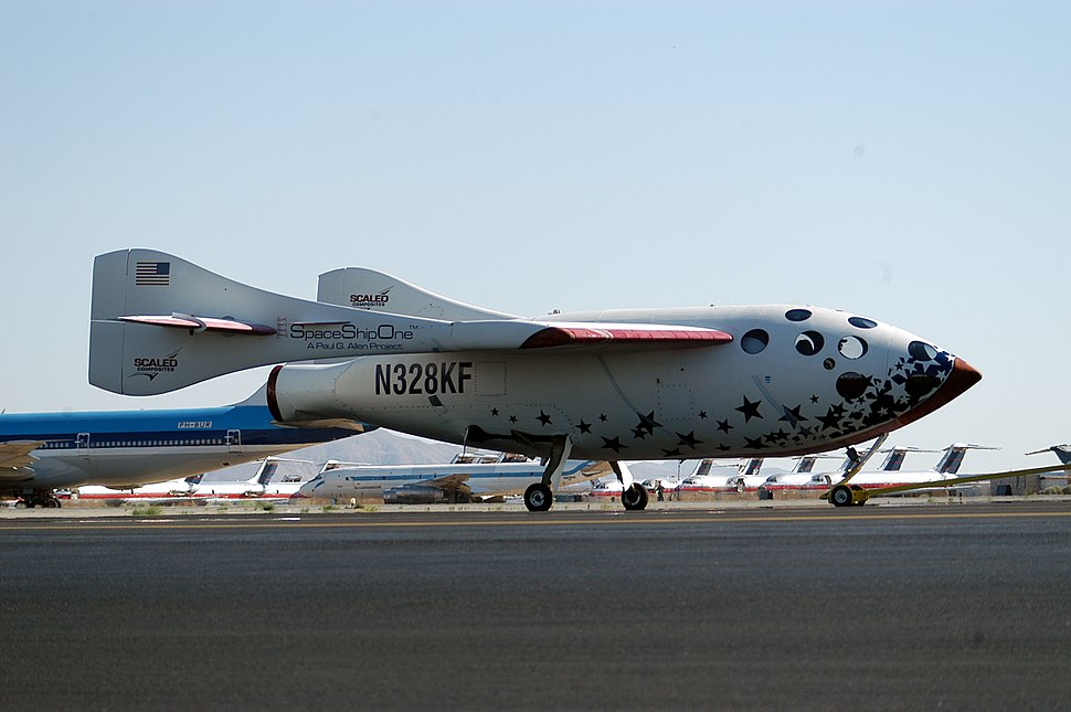SpaceShipOne Flight 15P photo D Ramey Logan