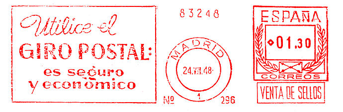 Spain Stamp Type PO A1