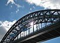 Span of the Tyne Bridge (geograph 3670559).jpg