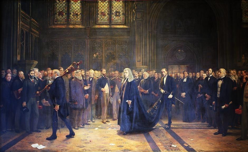 Speaker's Procession, 1884