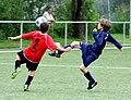 Spieler FC Wacker D Jugend in blau.JPG
