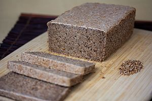 Sprouted bread - Image: Sprouted Wild Yeasted Whole Wheat Bread (4656526411)