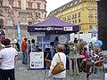 Stánek Modrého týmu, Městečko řešení, Brno (2).jpg