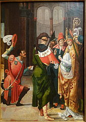 St. Anno of Cologne Receiving the Donation of Siegburg