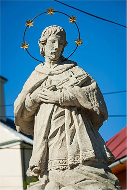 St. John of Nepomuk (Jan Nepomucky) St. John of Nepomuk in Divina.jpg