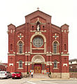 St. Paul of the Cross Monastery Church, South Side Slopes, Pittsburgh, west front, 2015-04-19, 01.jpg