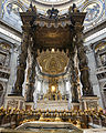 St. Peter's Baldachin by Bernini.jpg