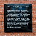 St. Petri (Hamburg-Altona-Altstadt).Tafel.Altonaer Bekenntnis.114919.ajb.jpg