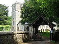 St Andrew's church and lych gate, Feniton - geograph.org.uk - 1320155.jpg