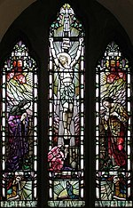 St Andrew, Little Berkhamsted, Herts - Window Stained glass by Rosenkrantz