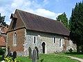 St Bartholomew's Church, Westwood Lane, Wanborough (May 2014) (1).JPG