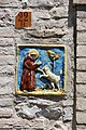 St Francesco and a Wolf in Assisi.jpg