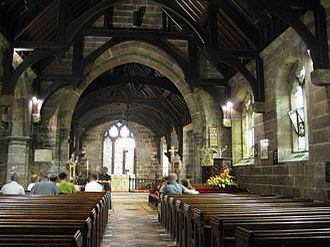 St James' Church, Ince - Interior