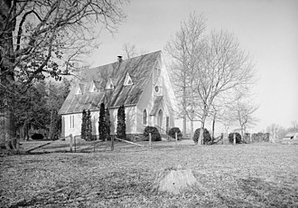 Louisa County, Virginia - St. John's Chapel, near Boswells Tavern, Louisa County, Historic American Buildings Survey