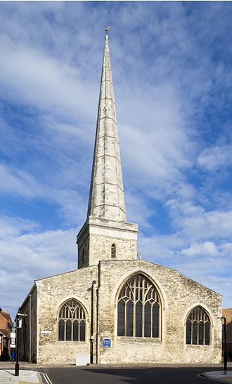 History of Southampton - The Parish Church of St Michael
