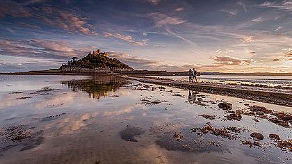 Hora sv. Michaela, Cornwall, Spojené království