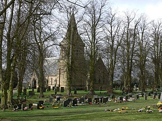 Baddesley Ensor - Image: St Nicholas's Church, Baddesley Ensor (geograph 1785273)