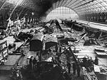 St Pancras railway station bomb damage in May 1941.jpg