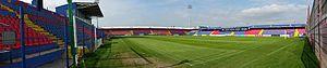 Stadionul Trans-Sil - Image: Stadionul Trans sil panorama