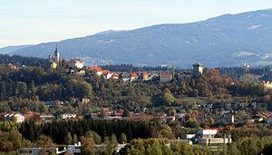 Althofen - Stadt Althofen im September 2013
