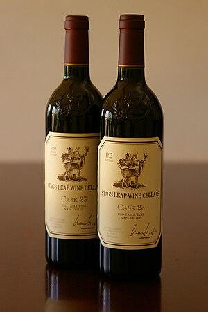 Stag's Leap Wine Cellars - Bottles of Stag's Leap Cask 23 Cabernet Sauvignon