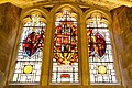 Stained glass windows in Crypt, Guildhall, City of London (1).jpg