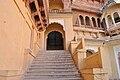Stairs in Meherangarh Fort.jpg