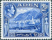 Stamp Aden 1939 2.5a