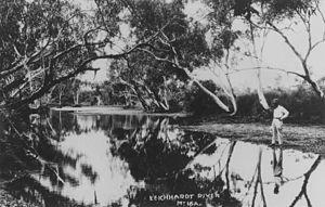 Leichhardt River - Leichhardt River, Mount Isa, ca. 1929