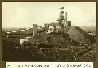 Mount Isa Mine Early Infrastructure - Urquhart Shaft and Headframe, 1932