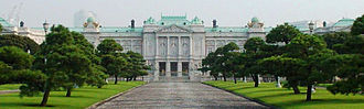 Cultural Property (Japan) - The Akasaka Palace is the only National Treasure in the category of modern residences (Meiji period and later).
