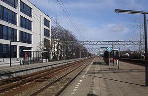 Den Haag Mariahoeve railway station - Image: Station Mariahoeve
