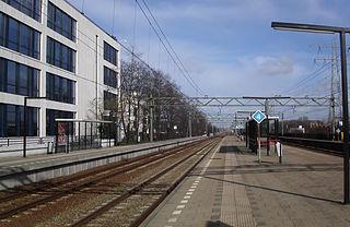 Den Haag Mariahoeve railway station railway station in The Hague