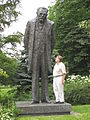 Statue of Bolesław Prus, in Warsaw.jpg