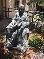 Statue of Ludwig Börne at visitors center 01.jpg