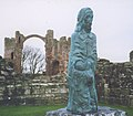 Statue of St Cuthbert - geograph.org.uk - 240261.jpg