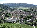 Staufen - Blick auf Stadt von Burg.JPG