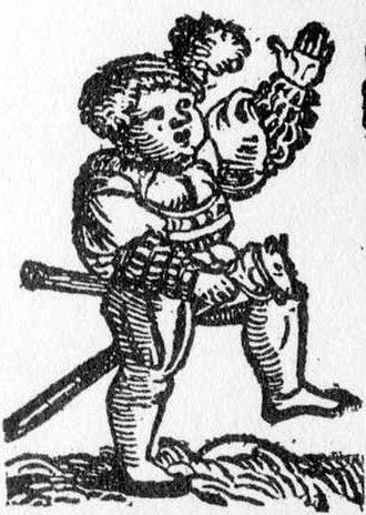 Hobby horse (toy) - Image: Steckenpferd 1542