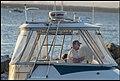Steering into Scarborough Marina at dusk-1 (34114888245).jpg