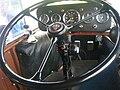 Steering wheel, Scottish Vintage Bus Museum, 16 May 2010.jpg