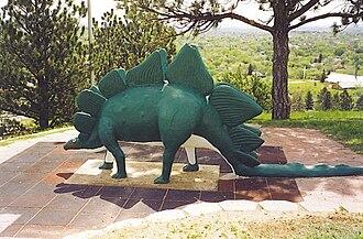 Emmet Sullivan - Image: Stegosaurus Dinosaur Park