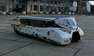 Stella (solar vehicles) - Stella Lux solar-powered car.