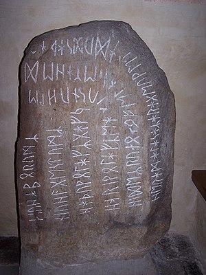 Stentoften Runestone - Image: Stentoftenstenen