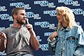 Stephen Amell and Emily Bett Rickards HVFFLondon2017Amell-ALS-18 (35146422072).jpg