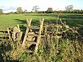Stile on the path to Low Hall - geograph.org.uk - 271484.jpg