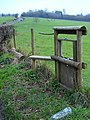 Stile with dog gate - geograph.org.uk - 340919.jpg