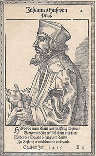 Jan Hus Czech linguist, religion writer, theologist, university educator and science writer