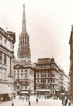 Stock im Eisen-Platz 1895