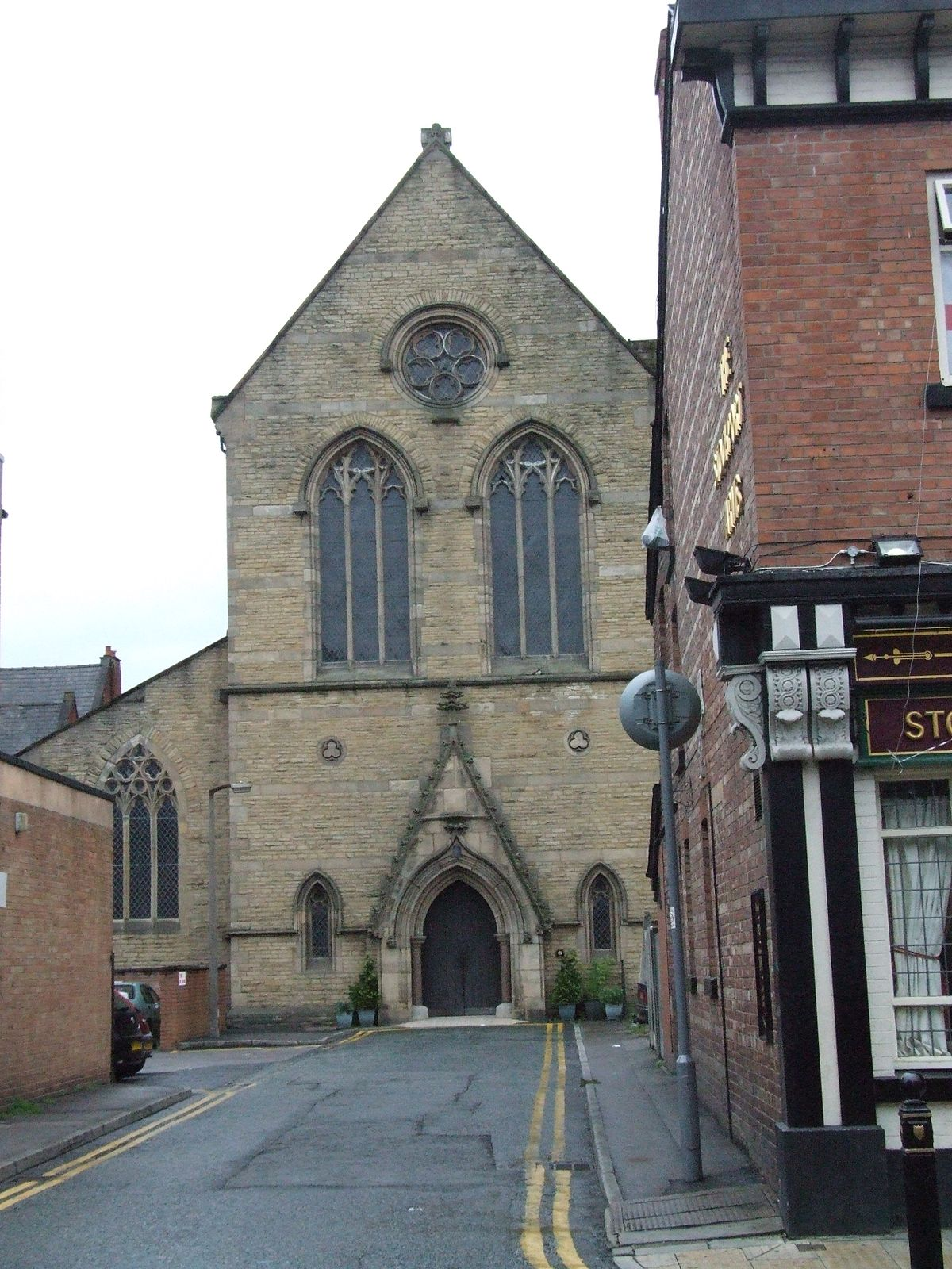 St Joseph's Church, Stockport - Wikipedia